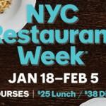 Restaurant Week NYC 2016