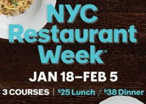 Restaurant Week NYC 2016