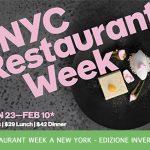 restaurant week edizione invernale a new york