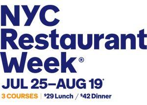 restaurant week a new york - edizione estiva