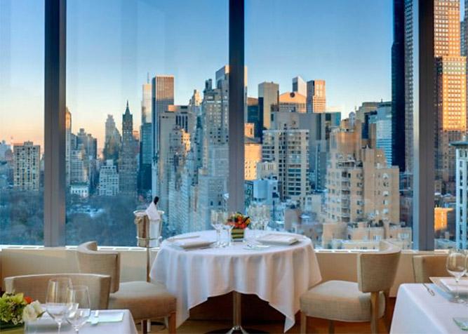 Anniversario Matrimonio A New York.Ristoranti Romantici A New York I Migliori Ristoranti Per Una