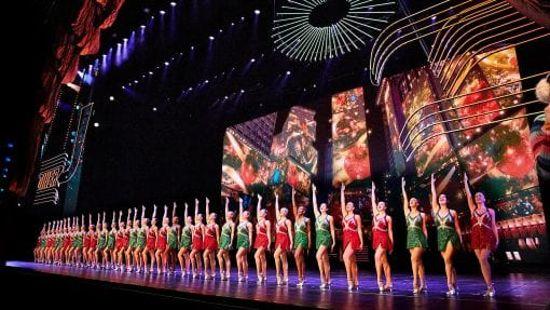 Le Rockettes durante il loro show
