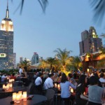 Rooftop bar di New York