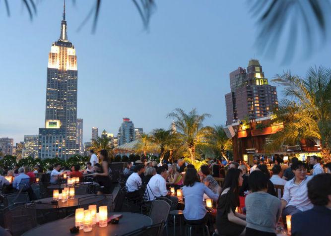 I migliori rooftop bar di new york i locali sui tetti di for Alloggi per studenti new york