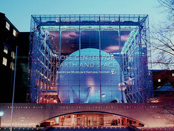 Rose Center for Space e Hayden Planetarium