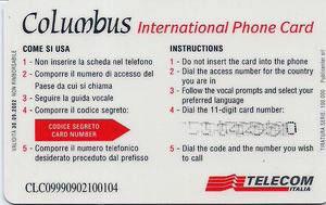 esempio scheda columbus di telecom italia