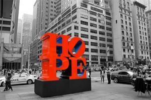 la nuova scultura hope