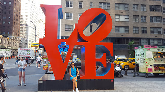 scultura Love a New York