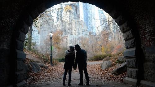 fotografo privato a new york di 2 ore in coppia