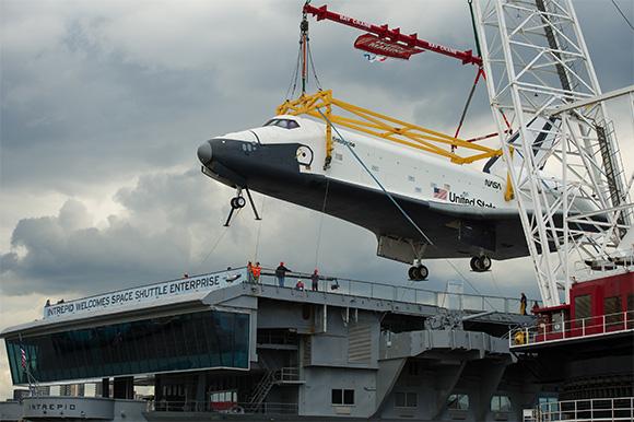 shuttle enterprise intrepid