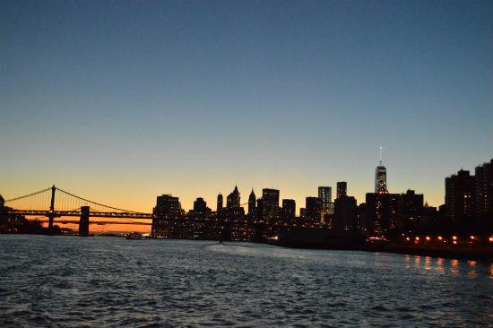 fotografare new york dalla barca