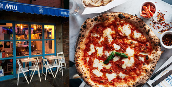 La pizzeria Song'e Napule a New York