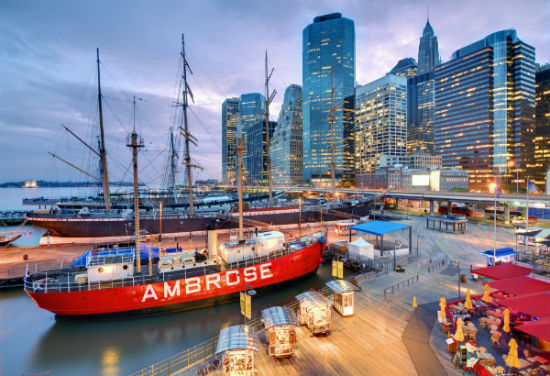 Il South Street Seaport di New York
