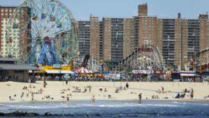 spiaggia di Coney Island
