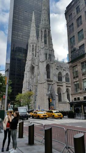 St. Patrick's Cathedral in Manhattan