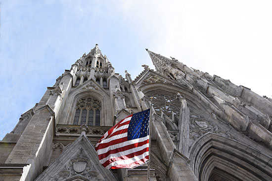 St. Patrick's Cathedral nella Midtown a New York