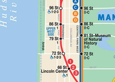 le stazioni della metro di New York, local o express