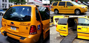 Taxi per disabili a New York