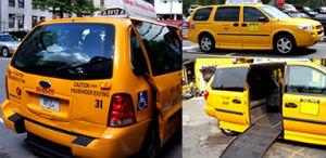 Taxi per disabili a New York