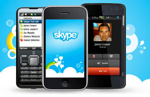 telefonare da new york in italia con Skype