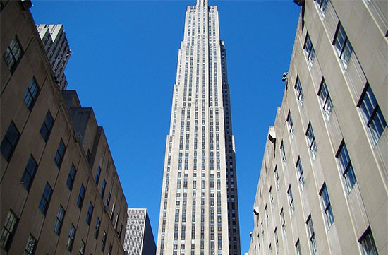 Top of The Rock, Midtown Manhattan, New York