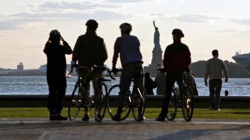 tour in bici del centro di manhattan