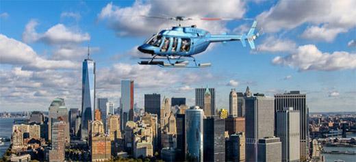 volo in elicottero sopra new york