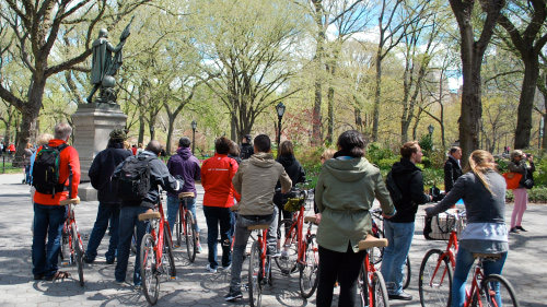 tour in bicicletta a new york