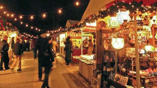 Tour delle luci e dei mercatini di Natale a New York