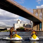 tour di new york in moto d'acqua