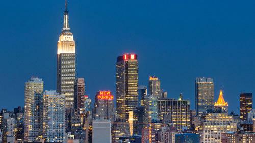tour guidato di sera a new york