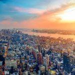 tramonto a new york