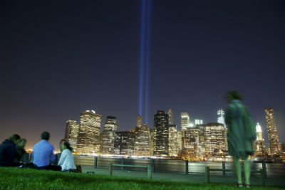 Tribute in Light da Brooklyn