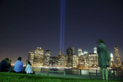 Tribute in Light da Brooklyn
