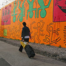Il tribute mural a Keith Haring, a NoHo