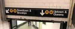 indicazioni per uptwon e downtown