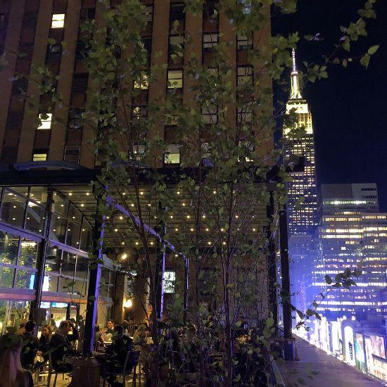 La vista dal Versa NYC