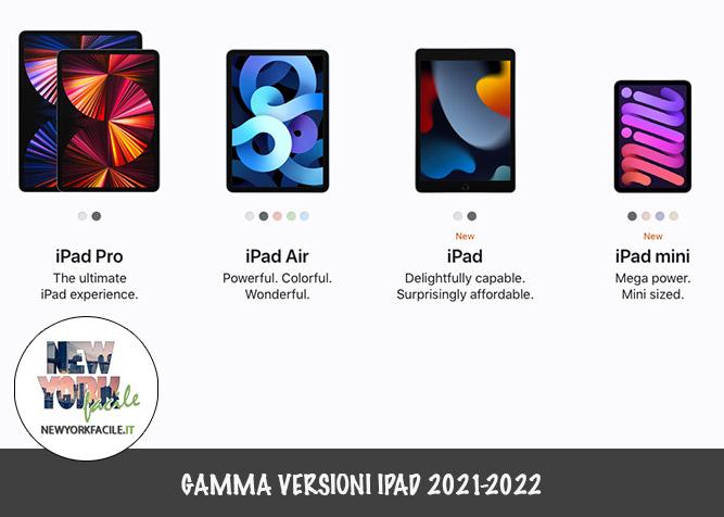 versioni iPad in vendita a New York