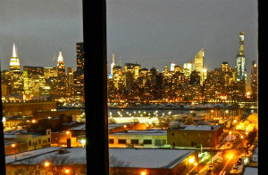 Vista da hotel a Long Island City
