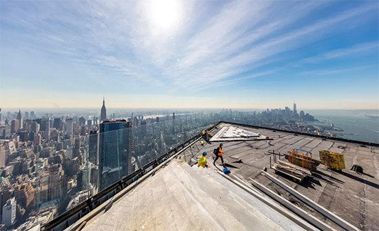 vista panoramica osservatorio Edge New York