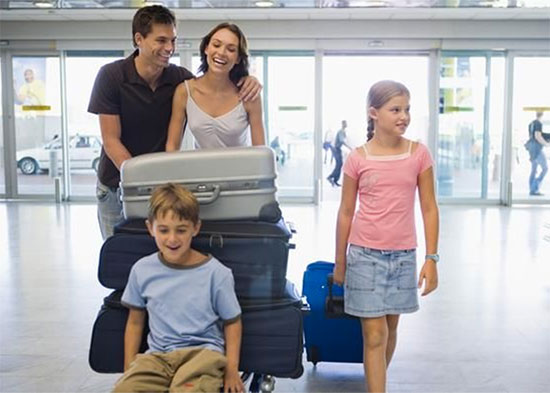 volare con bambini a new york