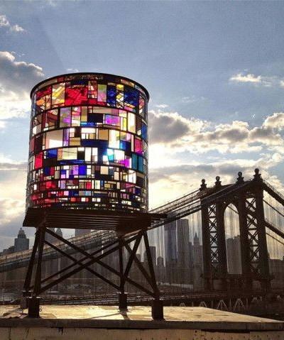 Water Tower DUMBO, New York