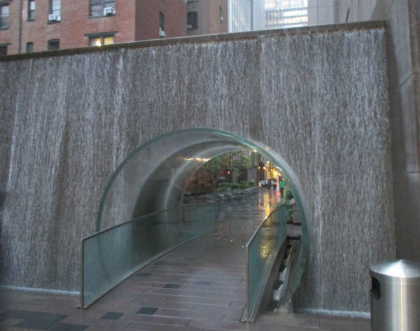 Waterfall Tunnel New York