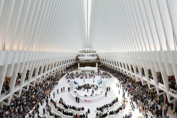 inaugurazione Westfield WTC