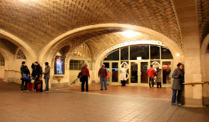 Whispering gallery, Grand Central Terminal