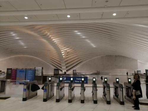 Stazione treno e metro World Trade Center